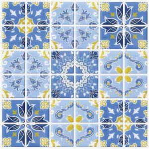 Pegatinas para azulejos vintage