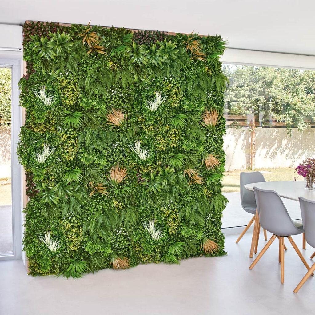 Jardines verticales en interiores