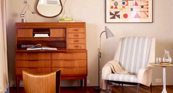 Materiales del esta echo un buen escritorio vintage