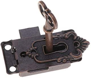 cerradura de llave regular vintage