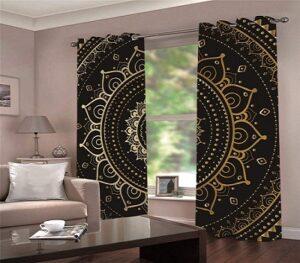 cortina de salón vintage