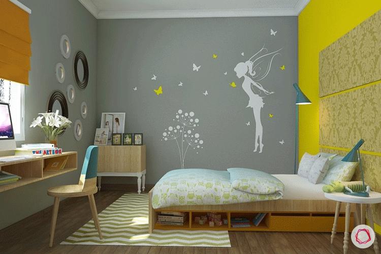 Decorar habitación infantil pared