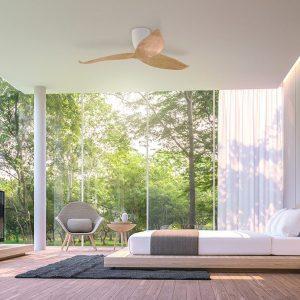 El ventilador de techo silencioso más elegante del mercado